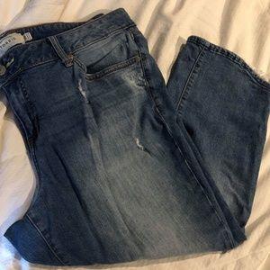 Torrid - Cropped Skinny Jeans